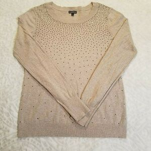 Express Womens L Pullover Scoop Neck Sweater 699